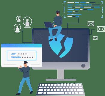 Hacking-Attacken