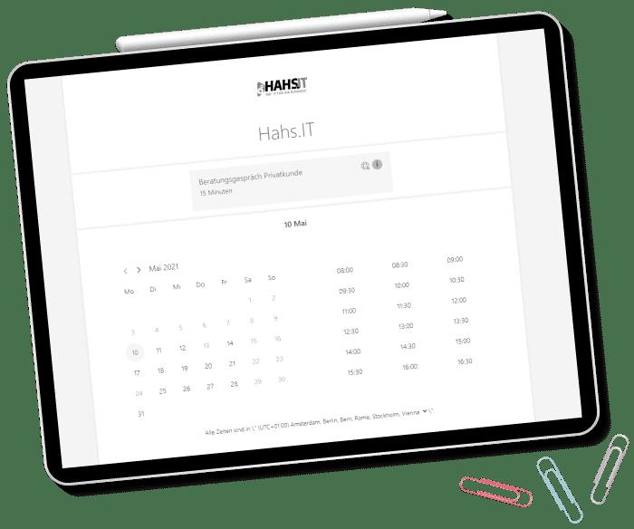 Online Kalender Hahs.IT